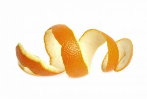 An image of a orange peel.